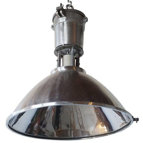 Vintage Style Industrial Aluminum Shade Pendant Light without Glass