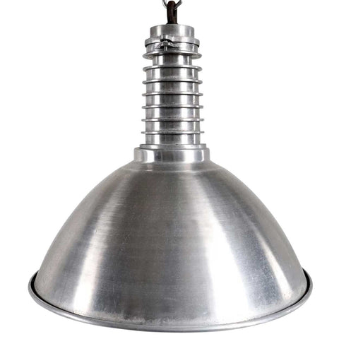 Large Vintage Style Industrial Aluminum Shade Pendant Light