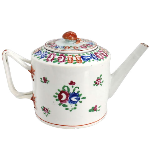 Chinese Export Porcelain Famille Rose Teapot