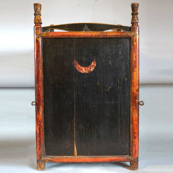 Chinese Qing Lacquered Side Cupboard