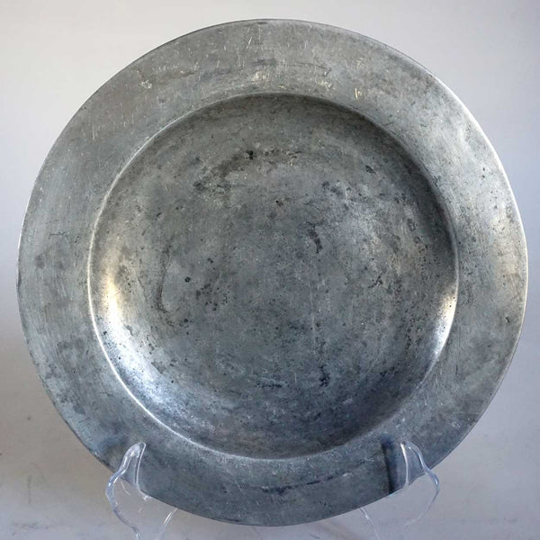 Continental Pewter Dinner Plate