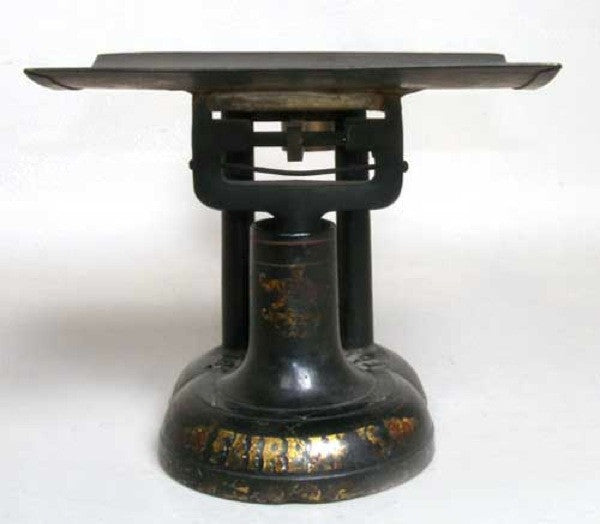 American Fairbanks Iron and Brass Counter Scale