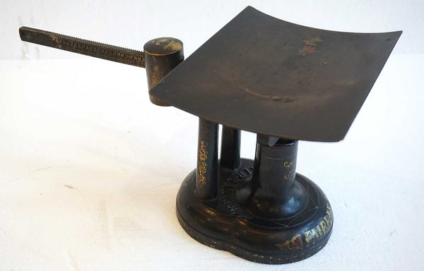 American Victorian E. & T. Fairbanks Painted Iron and Brass Counter Postal Scale