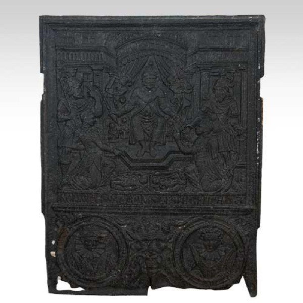 Continental Cast Iron Jamb Oven Plate, King Solomon's Worship