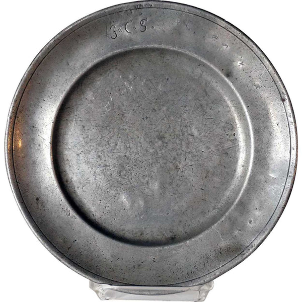 Continental Pewter Plate