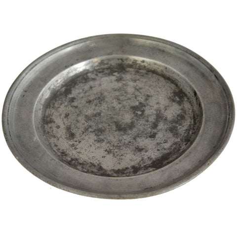 English Pewter Plate