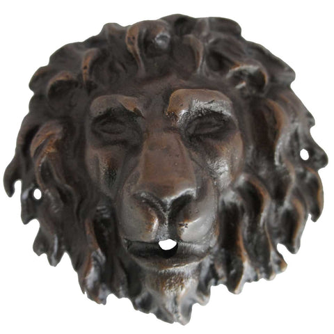 Small Bronze Lion Fountainhead