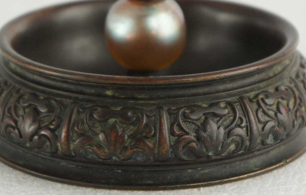 American Tiffany Studios Ashtray with Jewels