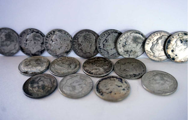 Collection of 20 American Silver Dimes