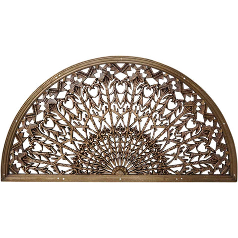 American Colorado National Bank Cast Bronze Arched Architectural Grille