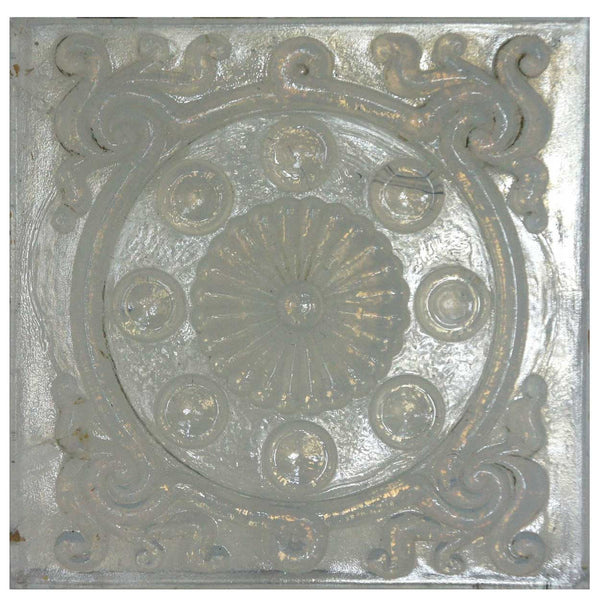 American Victorian Opalescent Pressed Glass Window Panel Tiles (15 available)