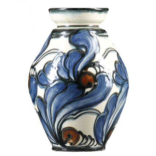 Danish Danico Art Nouveau Art Pottery Vase