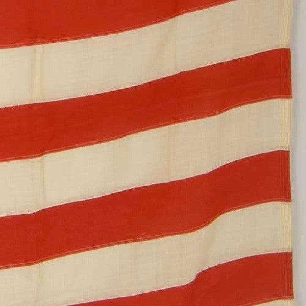 Vintage American Wool and Cotton 48-Star Flag