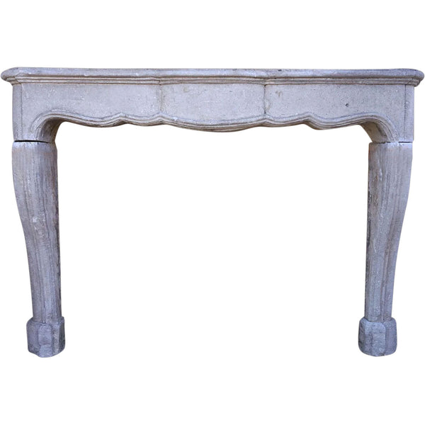 French Regence Caenstone Fireplace Surround