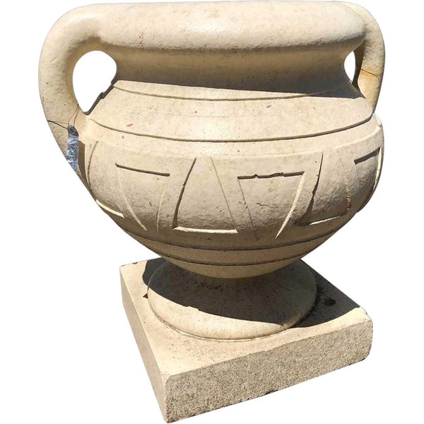American Art Deco Elitch Gardens Terracotta Garden Planter Urn