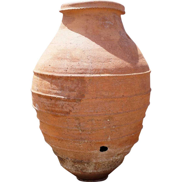 Large Spanish Red Terracotta Oil Jar