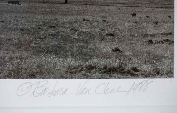 BARBARA VAN CLEVE Black and White Photograph, After the Calving