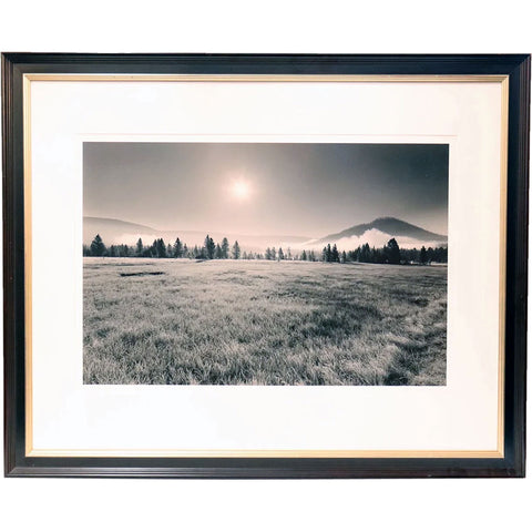 BARBARA VAN CLEVE Black and White Photograph, Morning Frost