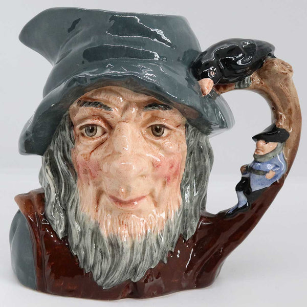 Large Vintage English Royal Doulton Porcelain Rip Van Winkle D6438 Character Jug