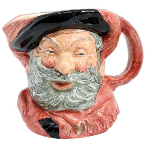 Large Vintage English Royal Doulton Porcelain Sir John Falstaff D6287 Character Jug
