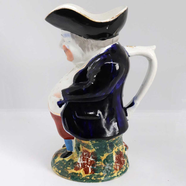 Scottish Victorian Methven Pottery Hands-in-Pockets Toby Jug