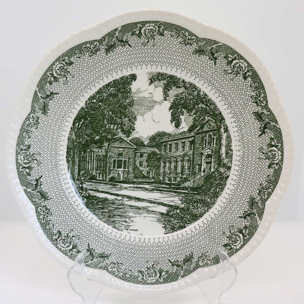 Vintage Set of 12 English Wedgwood for Campion China Cauldon Lace Dartmouth College Plates