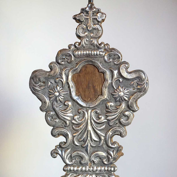 Indo-Portuguese Silver Mounted Reliquary as a Table Lamp