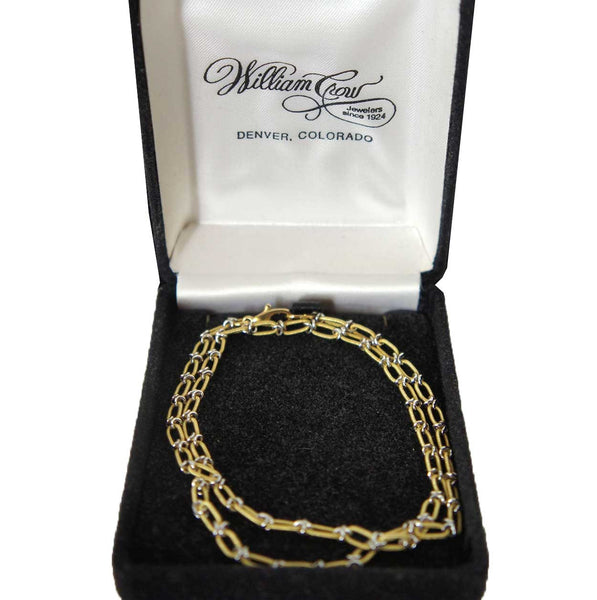 Vintage Italian 18k Gold Chain Necklace