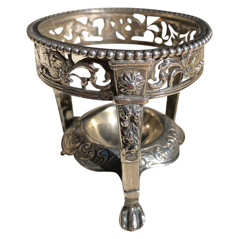 Small Dutch Hooykaas Schoonhovense 835 Silver Salt Cellar Frame
