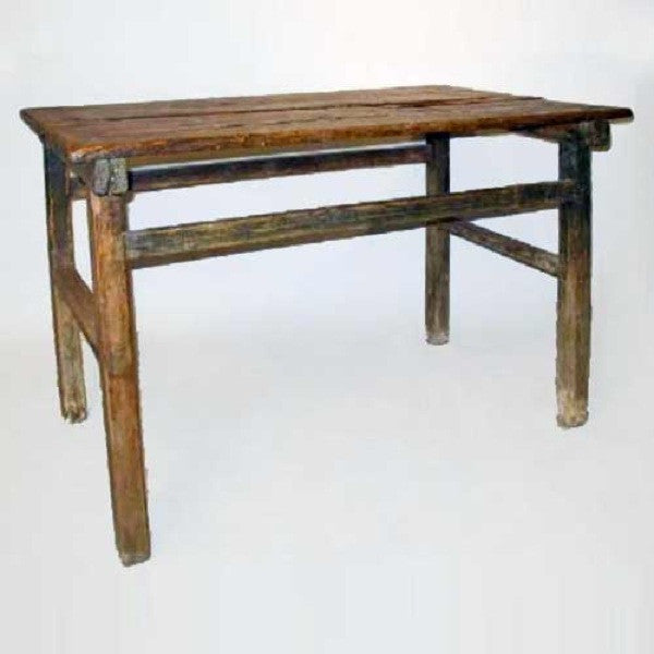 Mexican Spanish Colonial Pine Kitchen Table