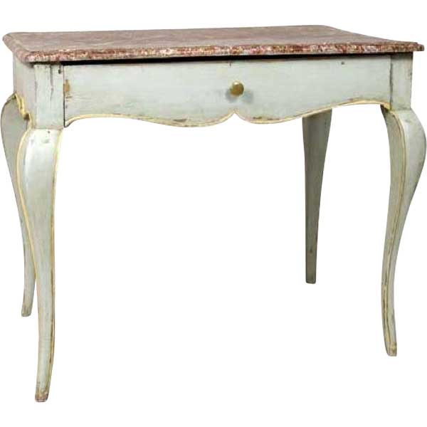 Prime French Provincial Louis Xv Style Faux Marble Painted Rectangular Side Table Bralicious Painted Fabric Chair Ideas Braliciousco