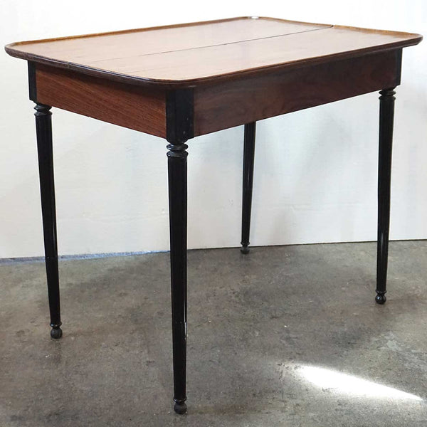 French Colonial Kerala Ebony and Rosewood Rectangular Side Table