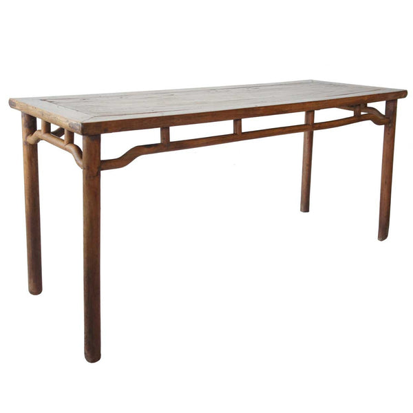 Chinese Jiangsu Elm Painting Table