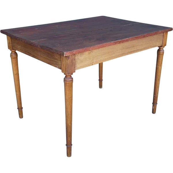 Small French Provincial Pine Bistro Table