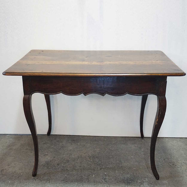 French Louis XV Period Walnut Rectangular Tea Table