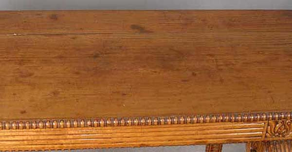 Anglo Indian Satinwood Console Table