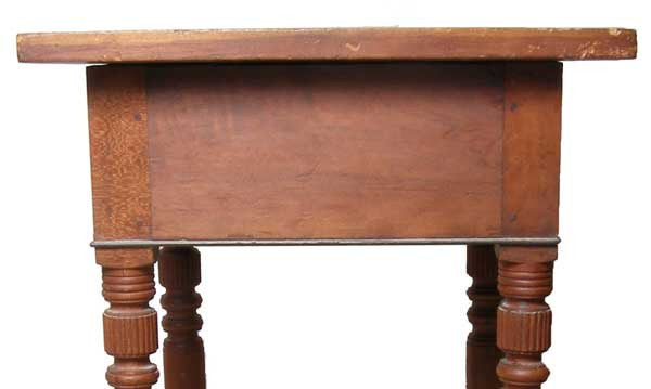 American Country Sheraton Cherrywood One-Drawer Side Table