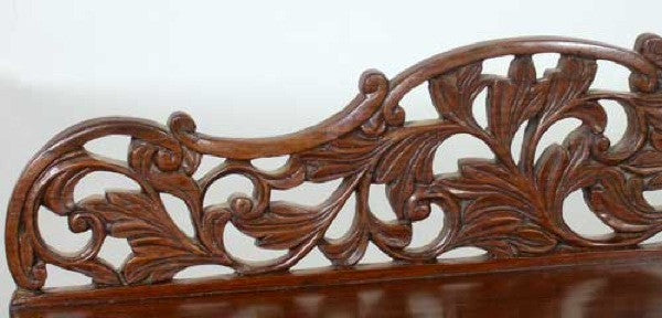 Indo-Portuguese Rosewood Console Table