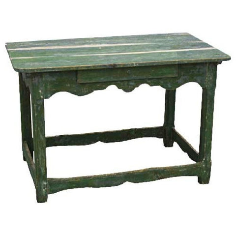Scandinavian Painted Pine Kitchen Work Table