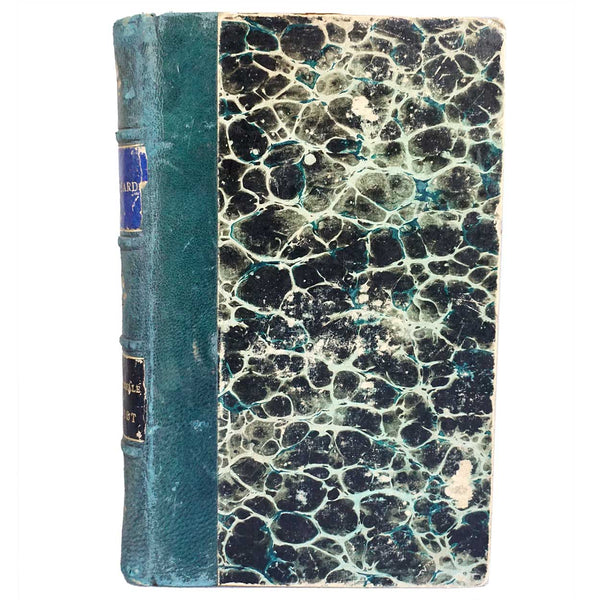 French Leather Bound Book: Mademoiselle Blaisot by Mario Uchard