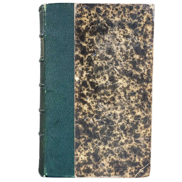 French Leather Bound Book: Questions Actuelles by Ferdinand Brunetiere