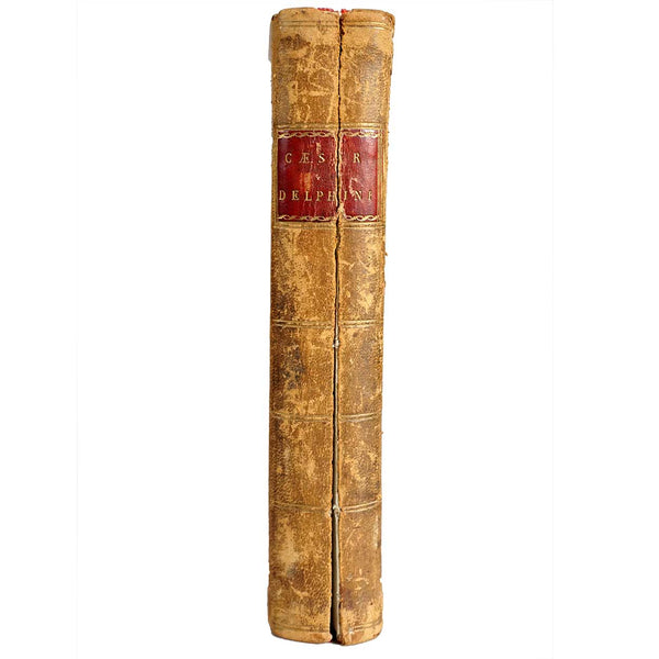 Leather Bound Book: Commentariorum De Bello Gallico by Julius Caesar