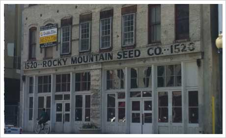Provenance | Rocky Mountain Seed Company Building
