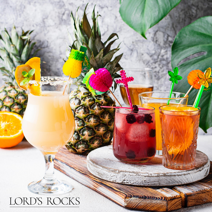 Summertime Bourbon Cocktails