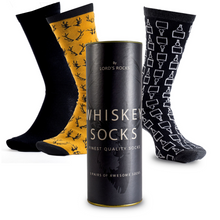 Load image into Gallery viewer, 3 Pairs of Whisky Socks Gift Set