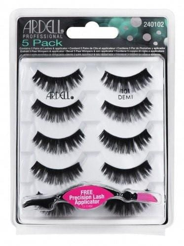 Ardell 101 BLACK (5 Pack + Free Applicator)