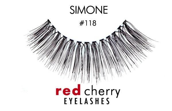 Red Cherry Lashes #118 (SIMONE)