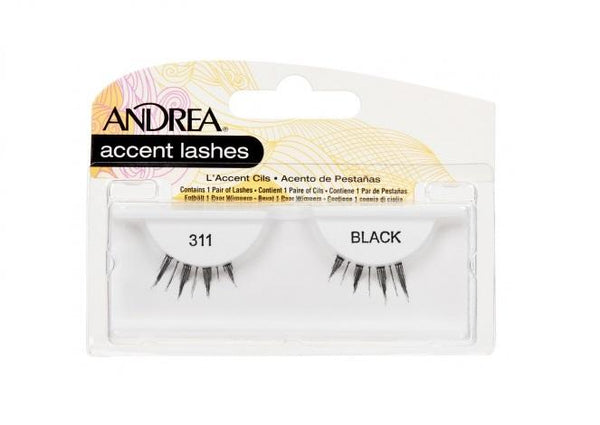 Andrea Accent Lash 311 BLACK