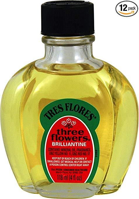 Three Flowers Brilliantine Liquid 4 oz