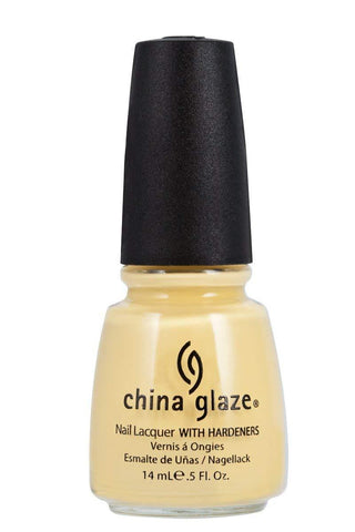 China Glaze Nail Lacquer (Lemon Fizz)
